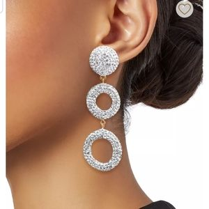 💝 Lele Sadoughi Crystal Wind Chime Earrings